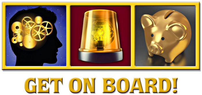 get on board composite website page